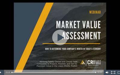 Market Value Assessment Webinar